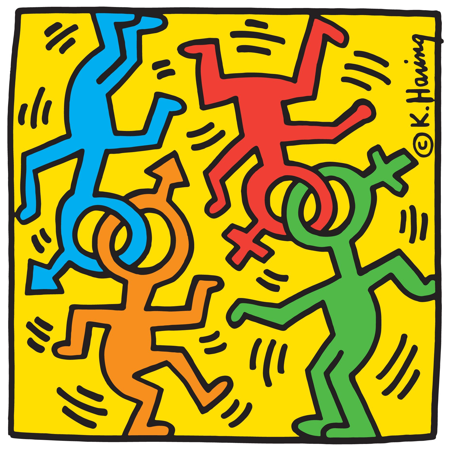 Arte Queer Pdf Nyc Pride Keith In 2019 Keith Haring Art Haring Art Keith