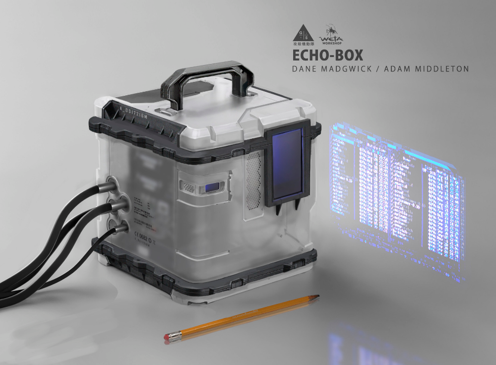 Artstation Ghost In The Shell Echo Box Adam J Middleton Futuristic Technology Ghost In The Shell Futuristic Design