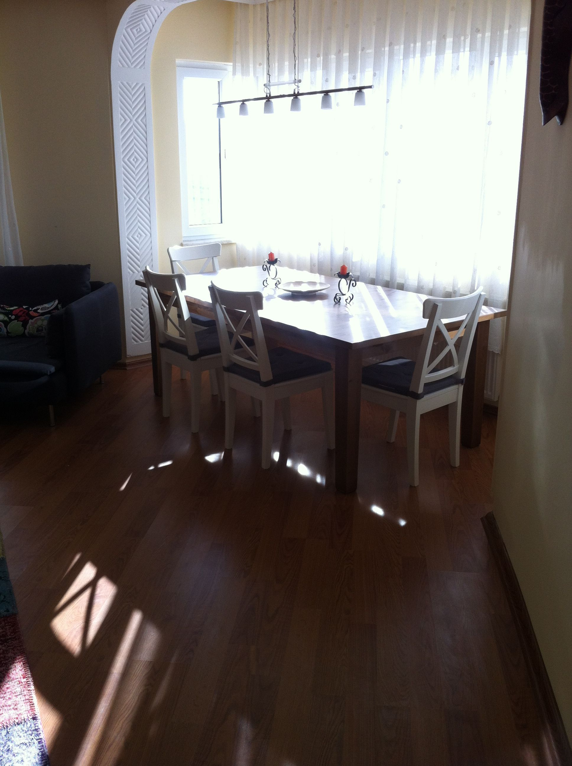 Ikea Stornas Table And Ingolf Chairs Home Decor Table