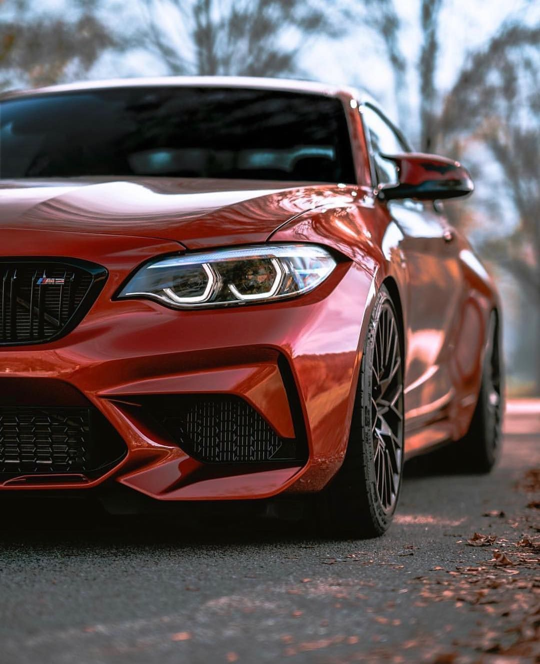 Bmw F87 M2 Competition In Sunset Orange Cars Bmw M2 Sports Cars