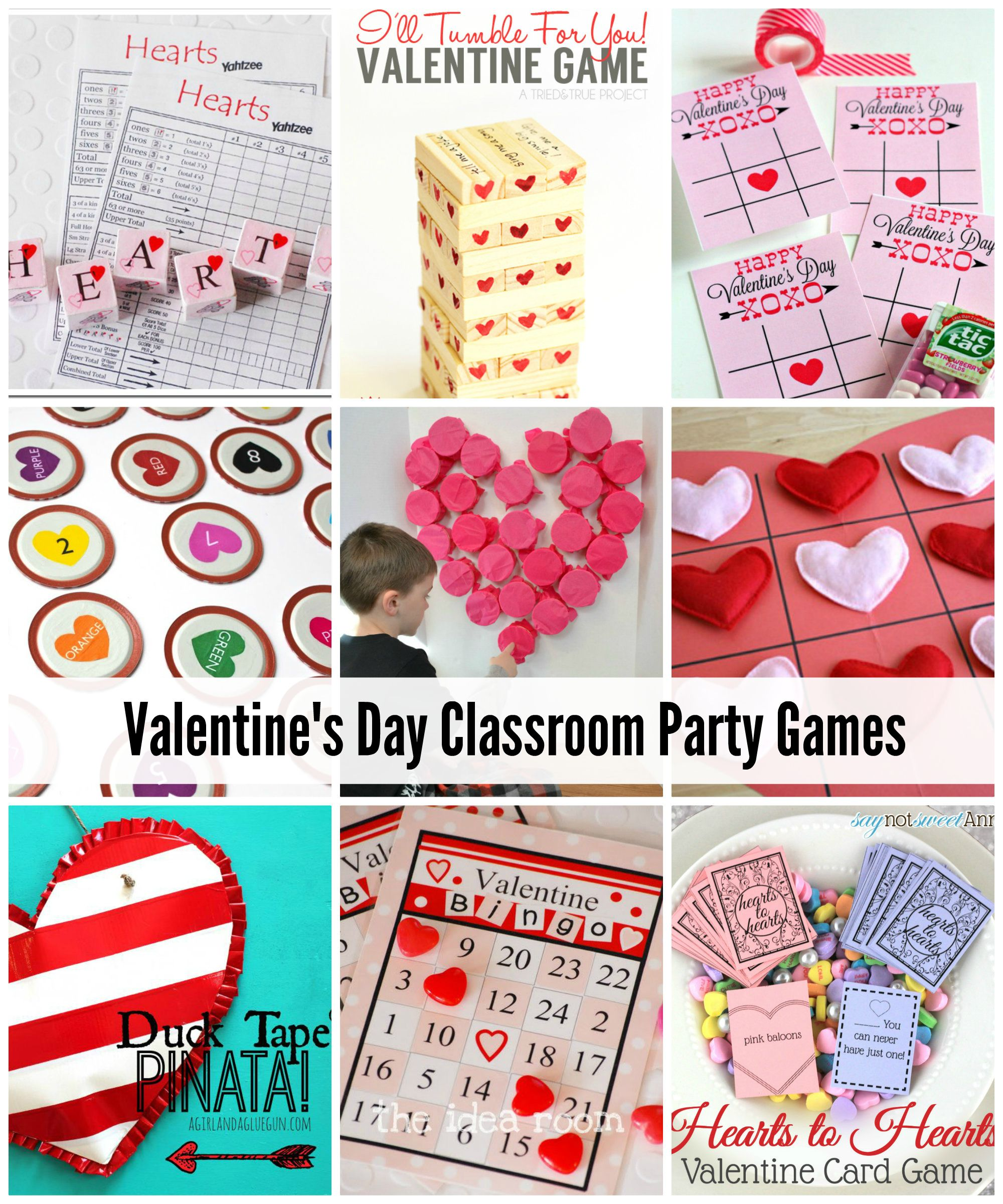 Valentine S Day Classroom Game Ideas