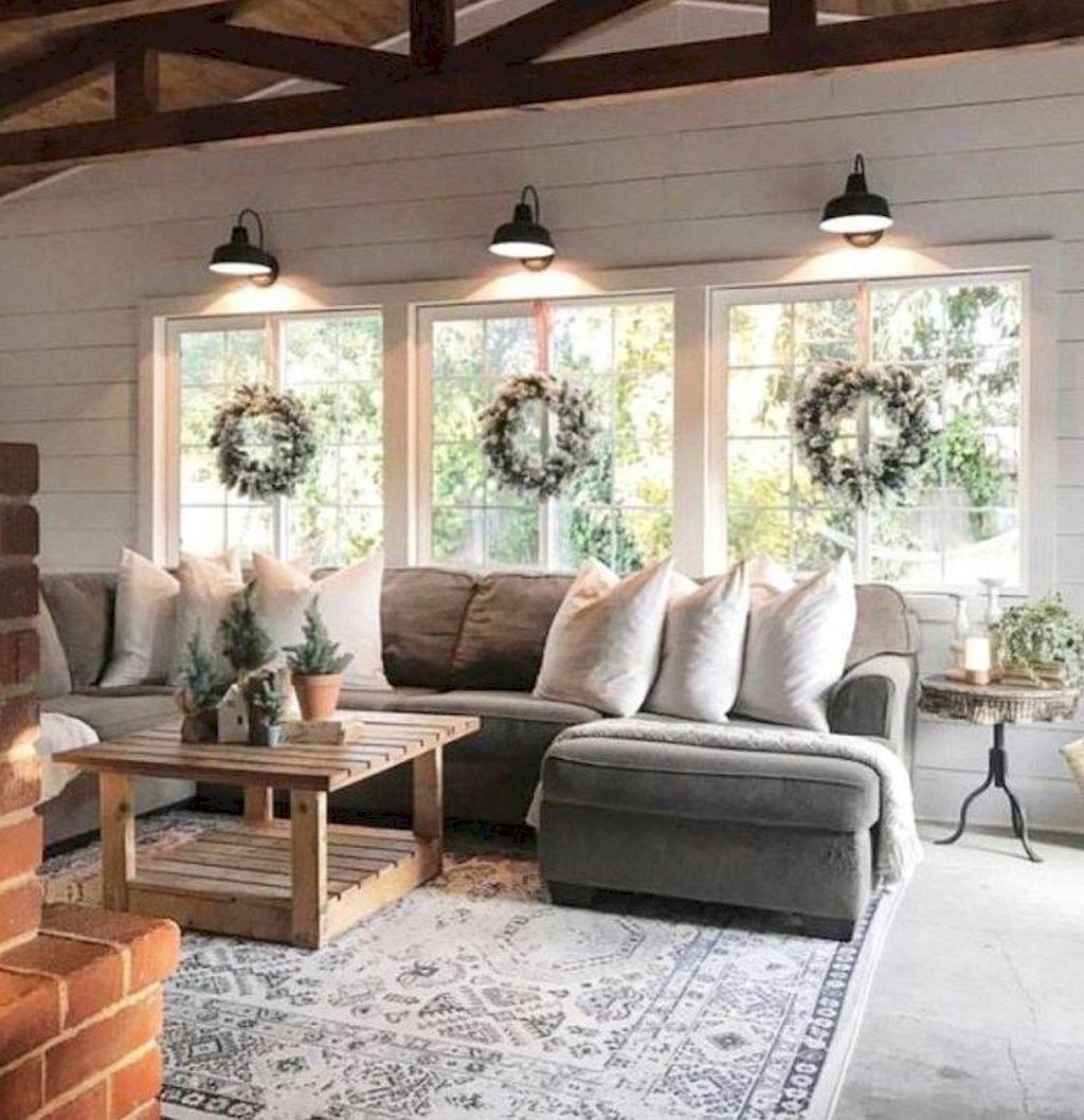 12 Best Farmhouse Living Room Makeover Decor Ideas Salons De