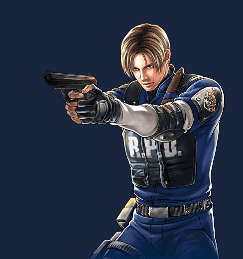Leon1 Png 488 520 Resident Evil Fofa Agente Americano