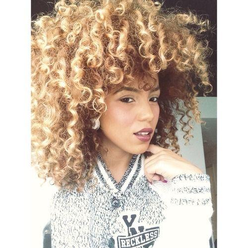 blonde natural hair curly kinky blonde hair pinterest