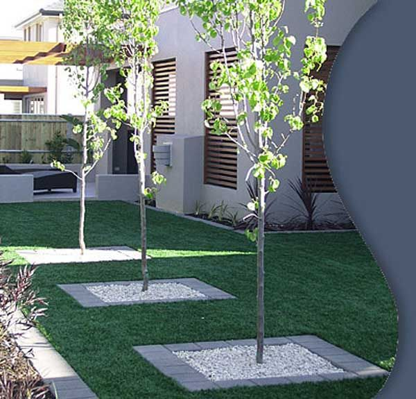 Front yard landscaping ideas perth wa synthetic turf for for Front yard garden designs australia