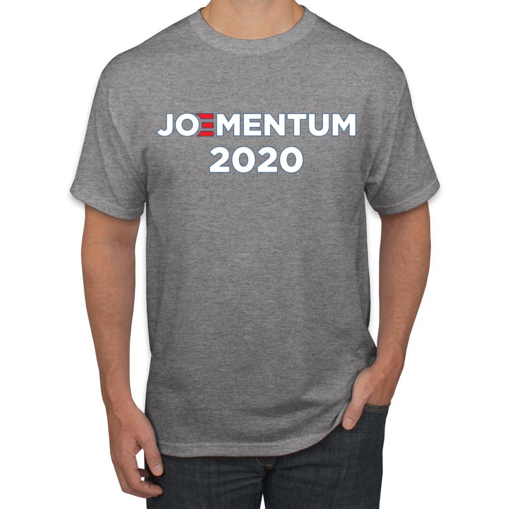 Joementum 2020 Funny Joe Biden Election Political Men S T Shirt Mens Tshirts Novelty Shirts T Shirt