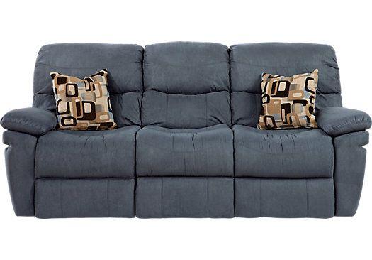 Shop For A Vista Ridge Indigo Reclining Sofa At Rooms To Go. Find Reclining  Sofas