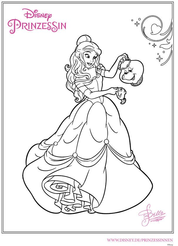 Pin Auf Disney Coloring