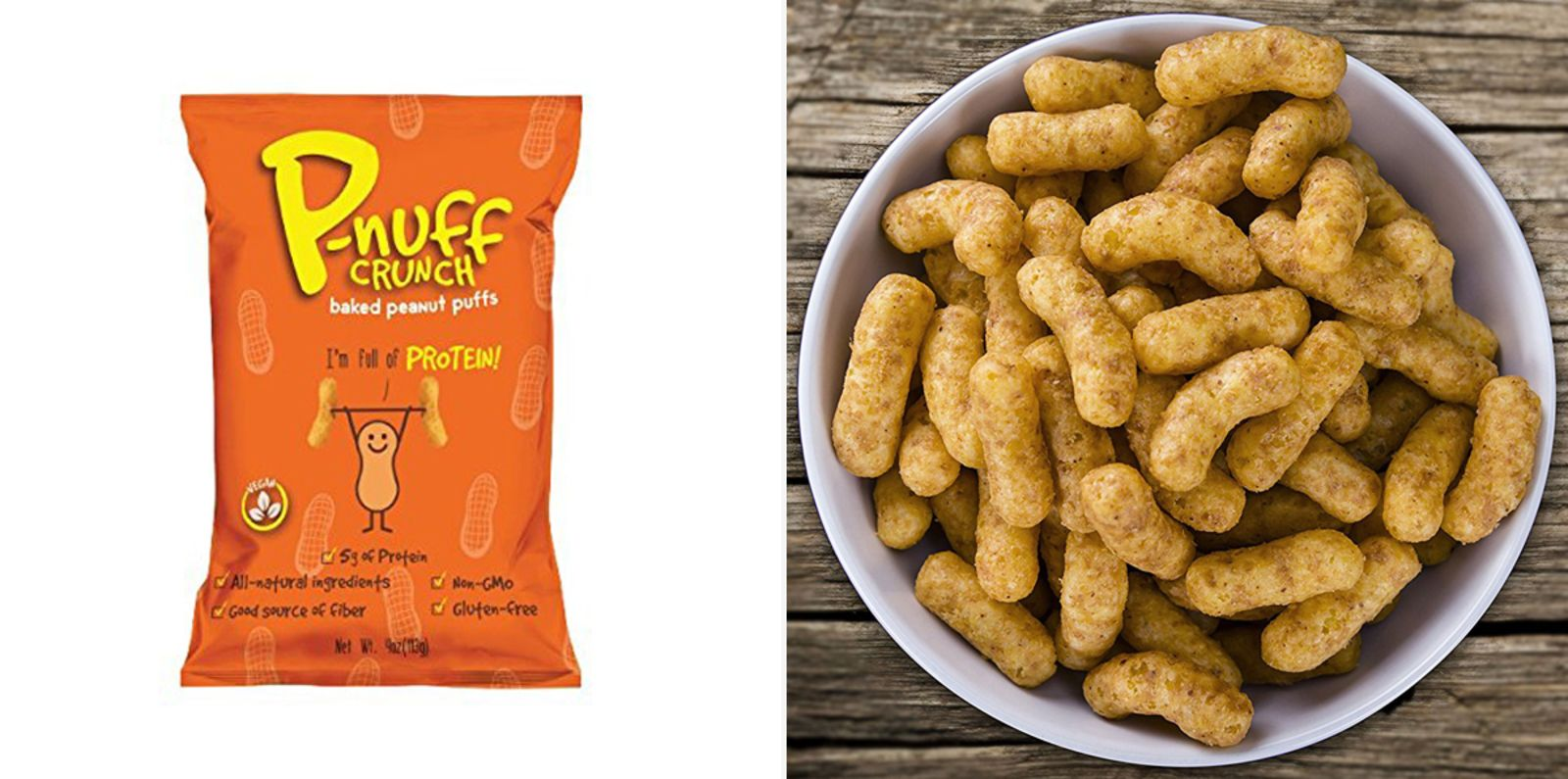 Pnuff Crunch Puff Snacks Whole food recipes, Snacks