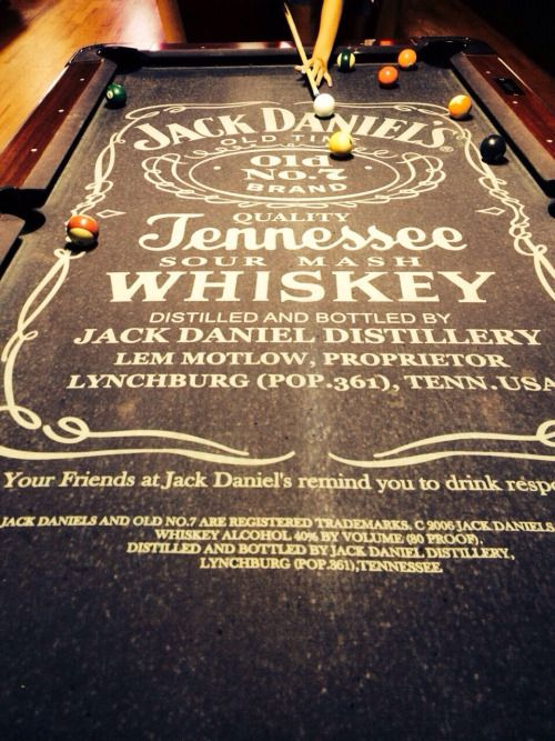 Lovely Different Patterned Pool Table. Jameson One Would Be Cool