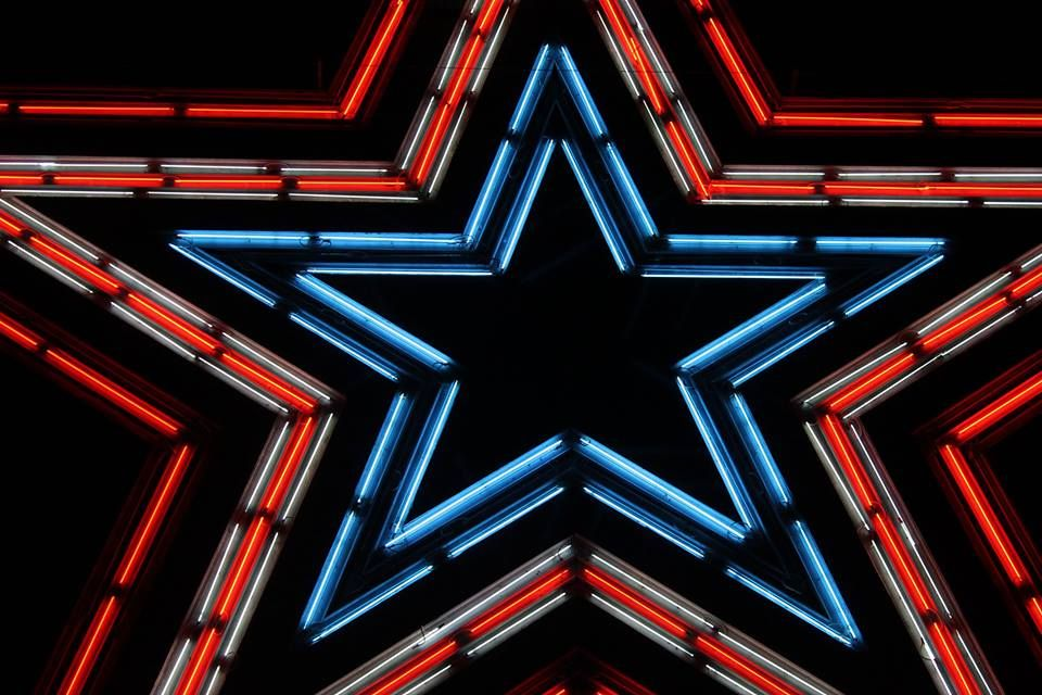 Here S To The Red White And Blue With Images Roanoke Virginia Roanoke Star City