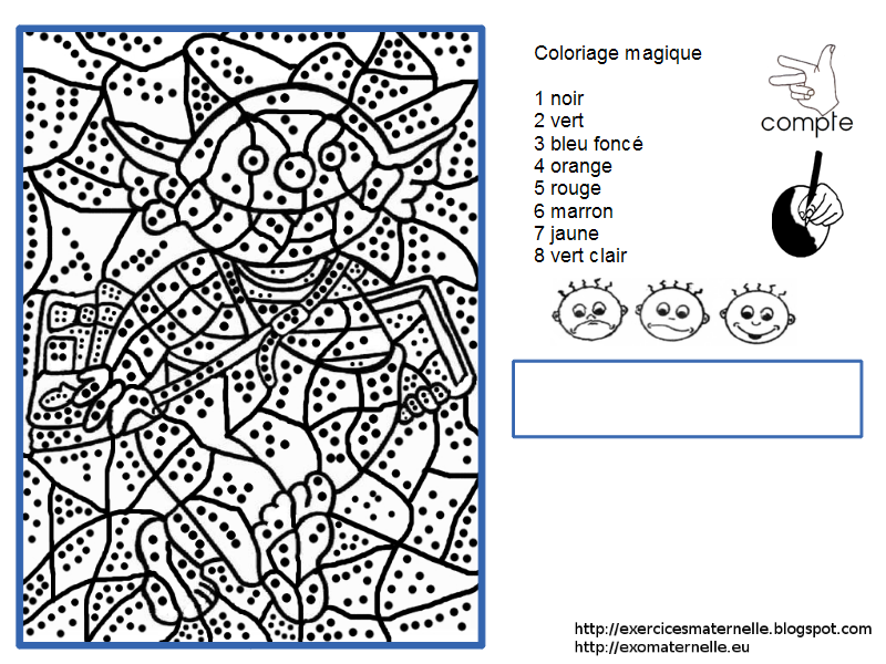 Coloriage Magique Le Petit Ogre Petit Ogre Coloriage Magique Ogre