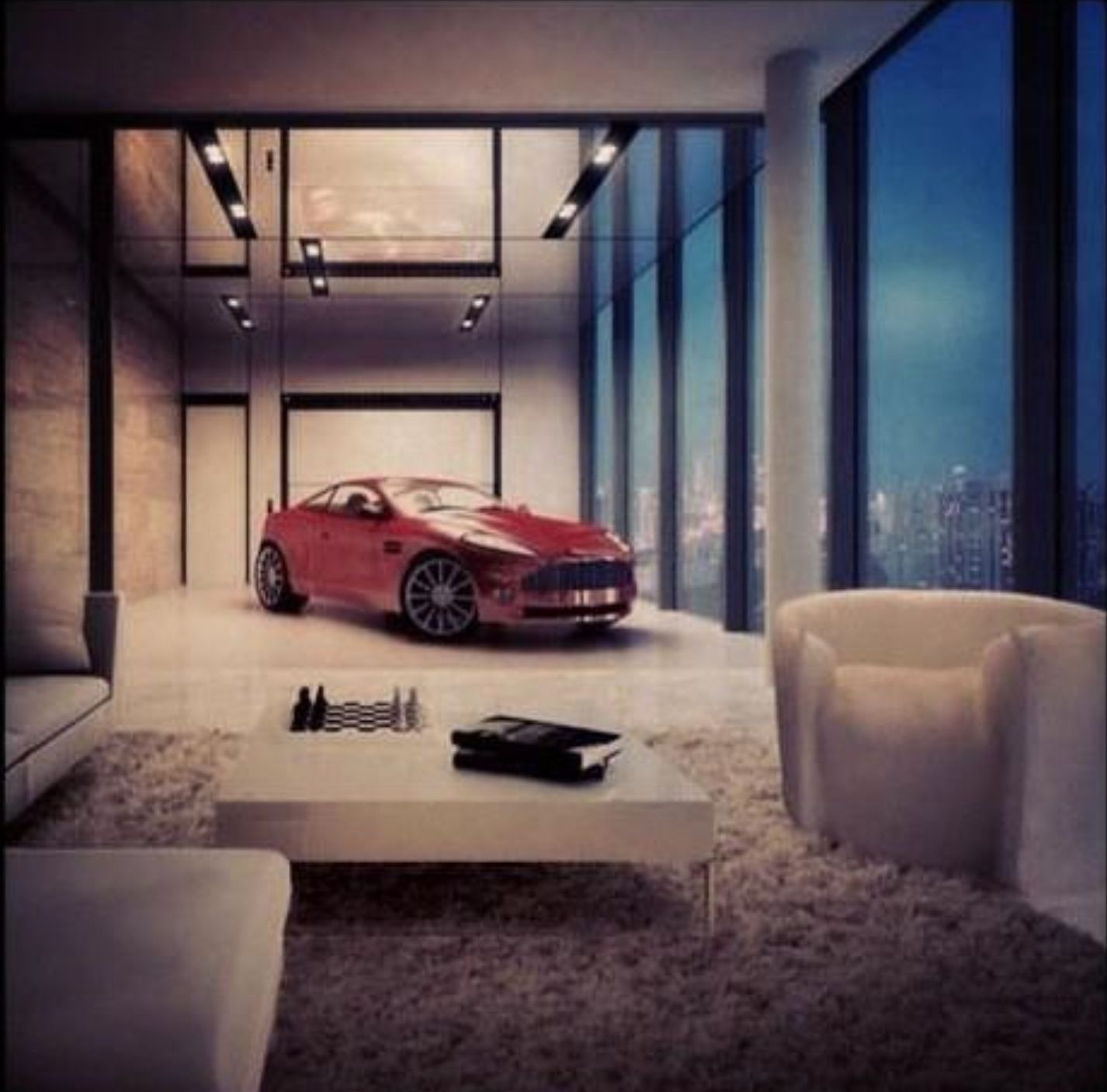 Pin By Senay Akay On Point Of View Luxury Apartments Garage Design Interior Luxury Living