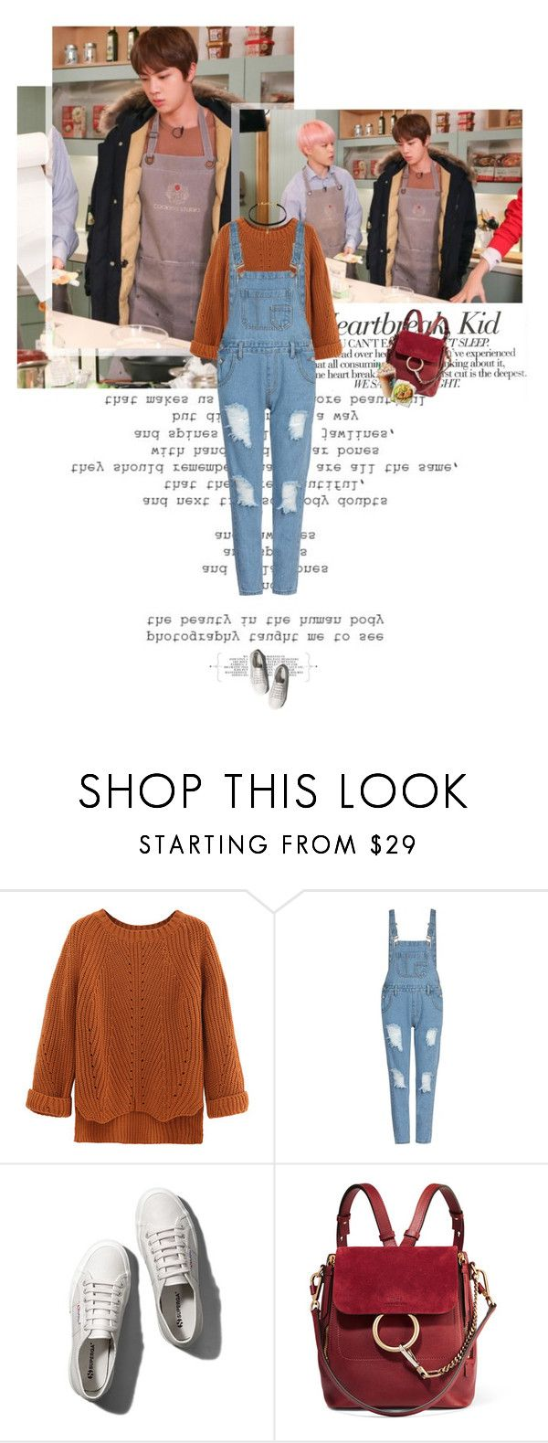 """Untitled 3840..."" by thplacebo ❤ liked on Polyvore featuring Karl Lagerfeld, WithChic, Abercrombie & Fitch, Chloé and Vanessa Mooney"