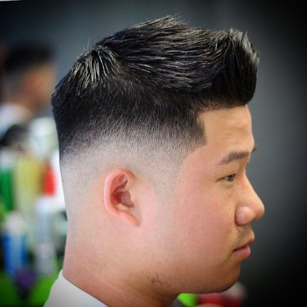 Bald Fade With Mohawk Chinese Men S Hairstyles And Haircuts