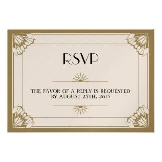 Roaring 20s Wedding Invitations Invites 256 Invitation Templates