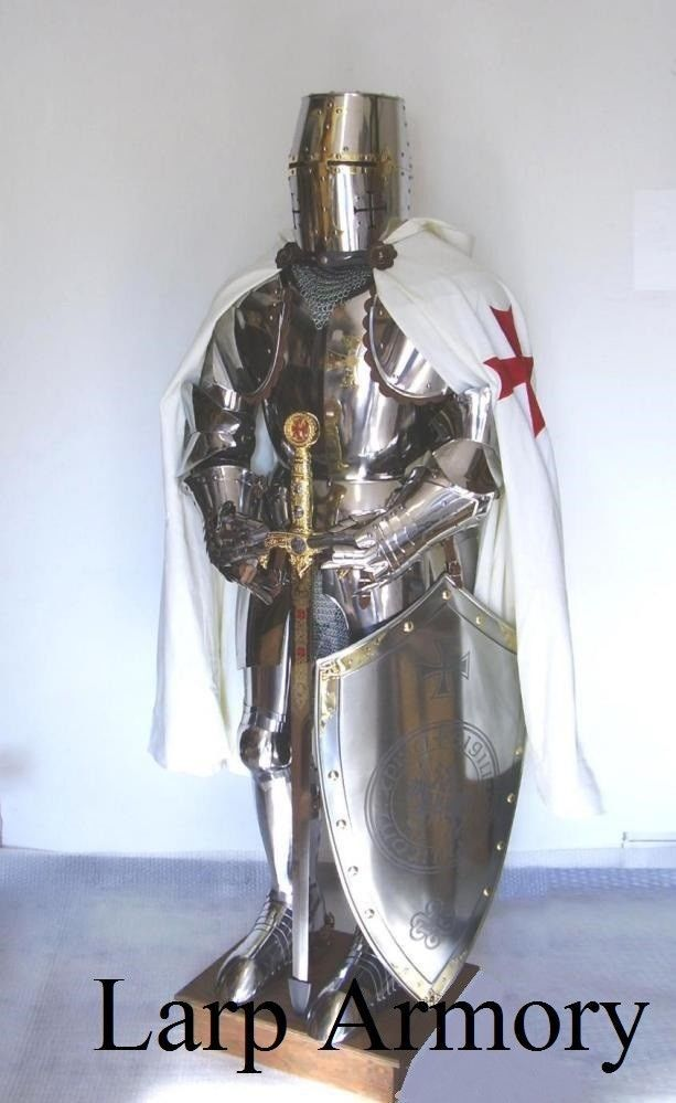 NauticalMart Medieval Knight Crusader Full Suit of Armor Collectible Costume | Pinterest | Crusaders and Medieval & NauticalMart Medieval Knight Crusader Full Suit of Armor Collectible ...