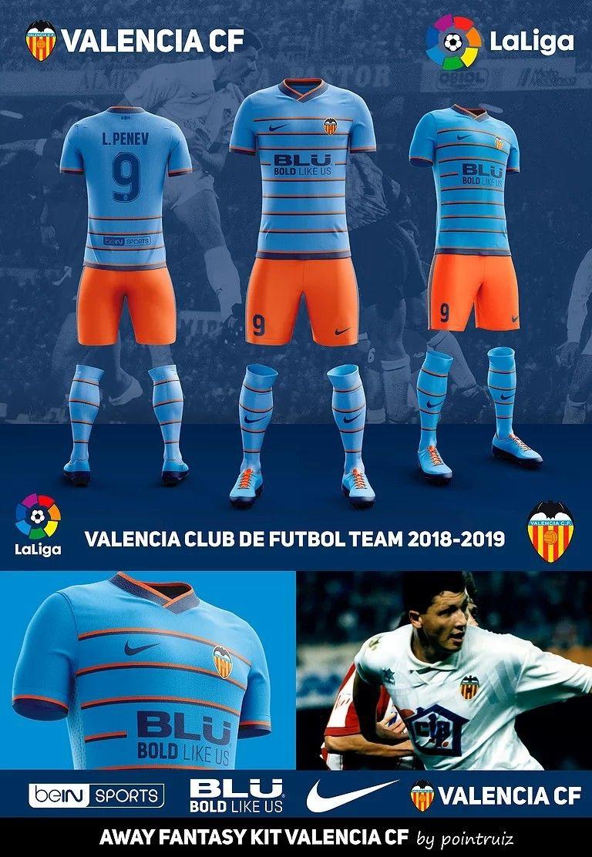 camisetas de futbol Valencia CF deportivas