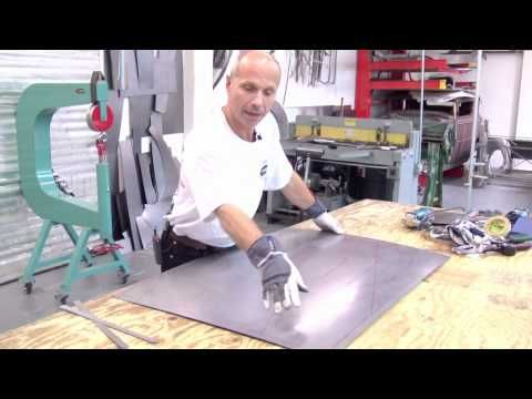 Lazze Metal Shaping Gaining Crown In Large Panels Metal Shaping Sheet Metal Work Sheet Metal
