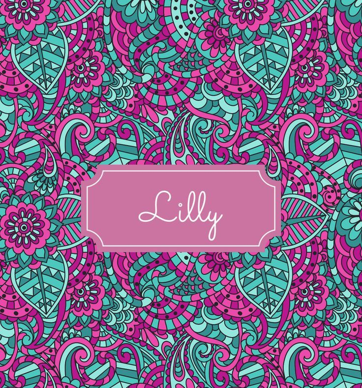 Lilly Name Background