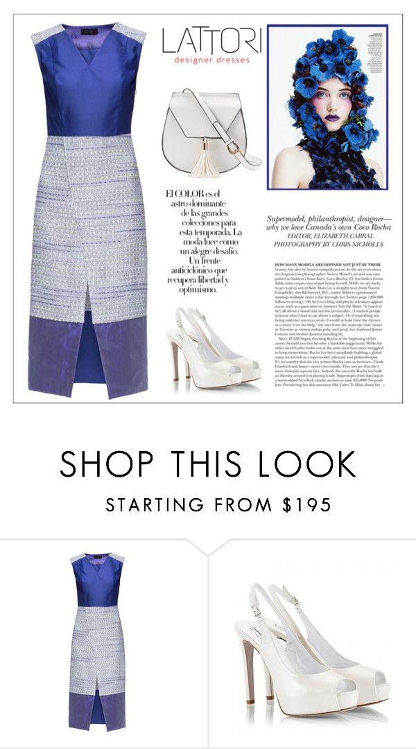 """LATTORI dress"" by water-polo ❤ liked on Polyvore featuring Lattori, Fratelli Karida, Yoki, Arco, polyvoreeditorial and lattori"