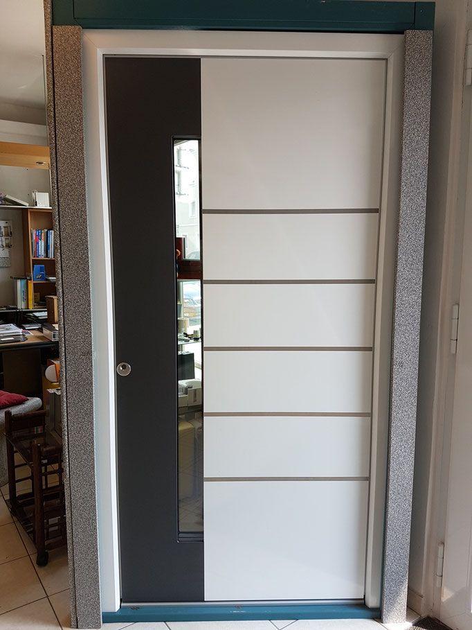 Gunstige Hausturen Im Abverkauf Aluhaustur Entrydoor Hausbau Entrance Entrydoor Ausstellungsstucke Hausturenabverkauf Abver Haustur Alu Hausturen Haus