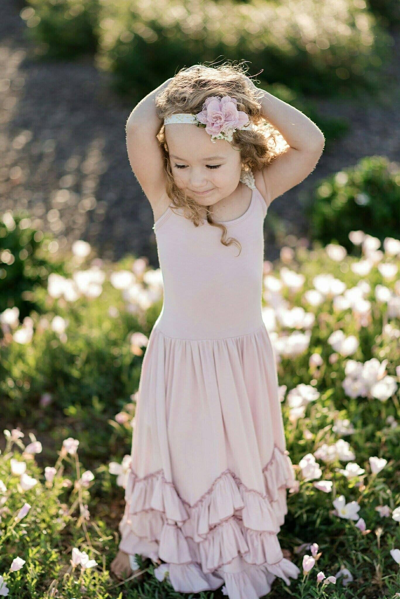 7f1e40ee0a380 Boho Baby - Blush Toddler Dress - Boho Flower Girl Dress - Rustic Flower  Girl Dress - Blush Wedding - SAVE 20% off with code: PIN20