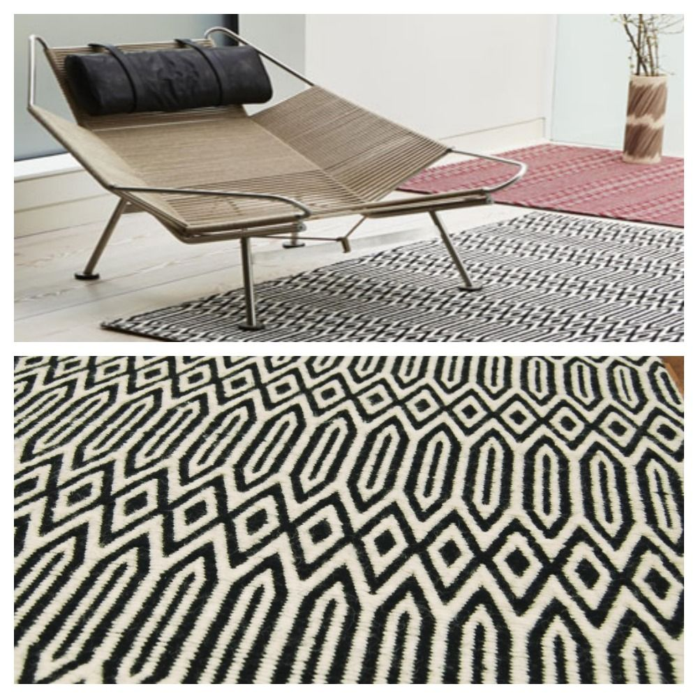 Boom Bust Monochrome Graphic Rug Rugs