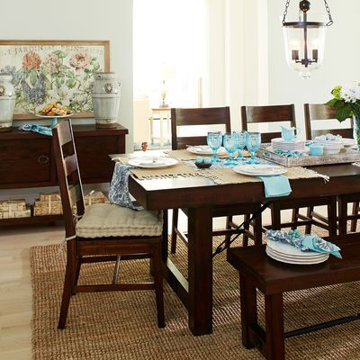 Eastwood Tobacco Brown 94 5 Quot Dining Table For The Home
