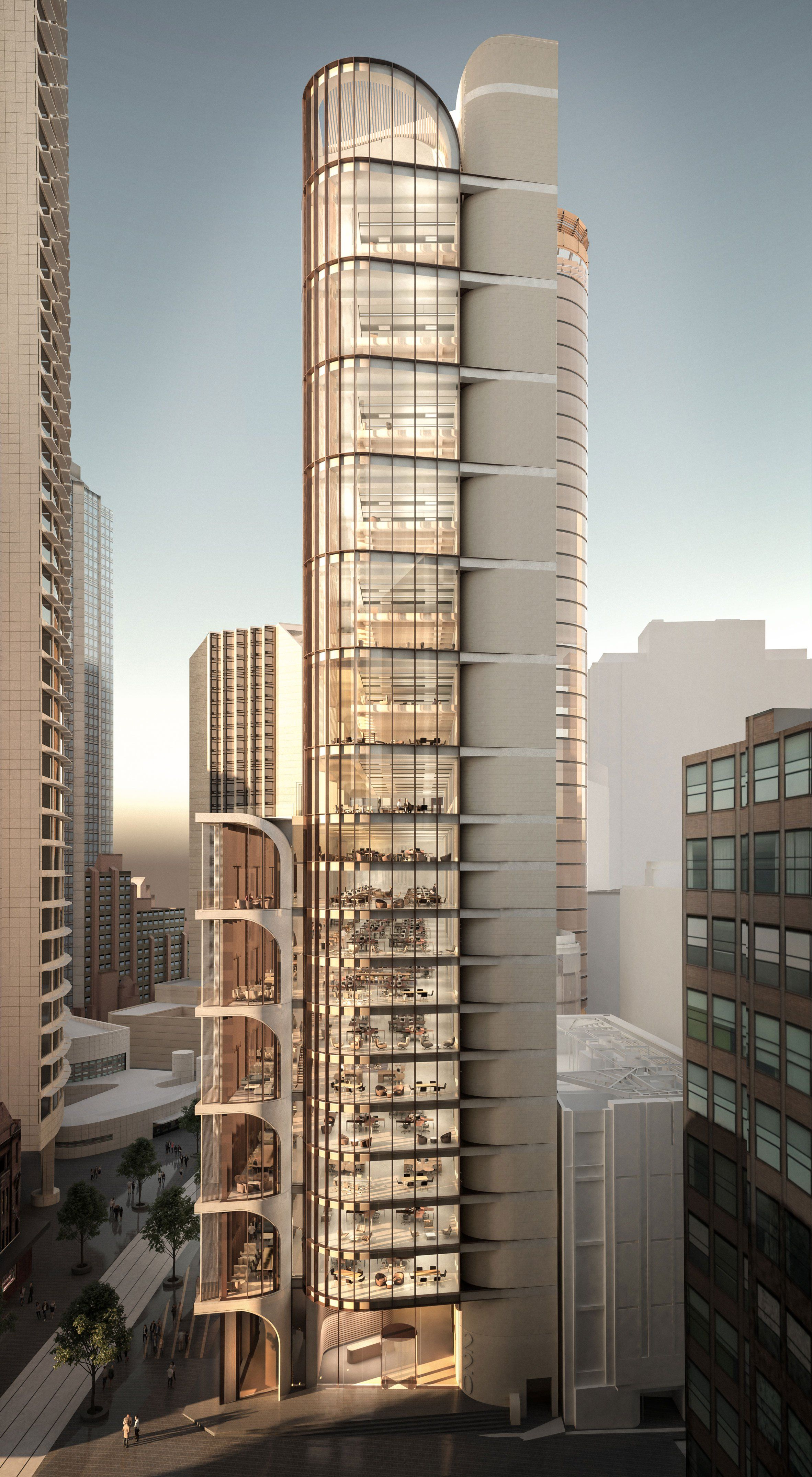 International Architecture Firm Grimshaw Wins Design Competition for Sydney  CBD Development