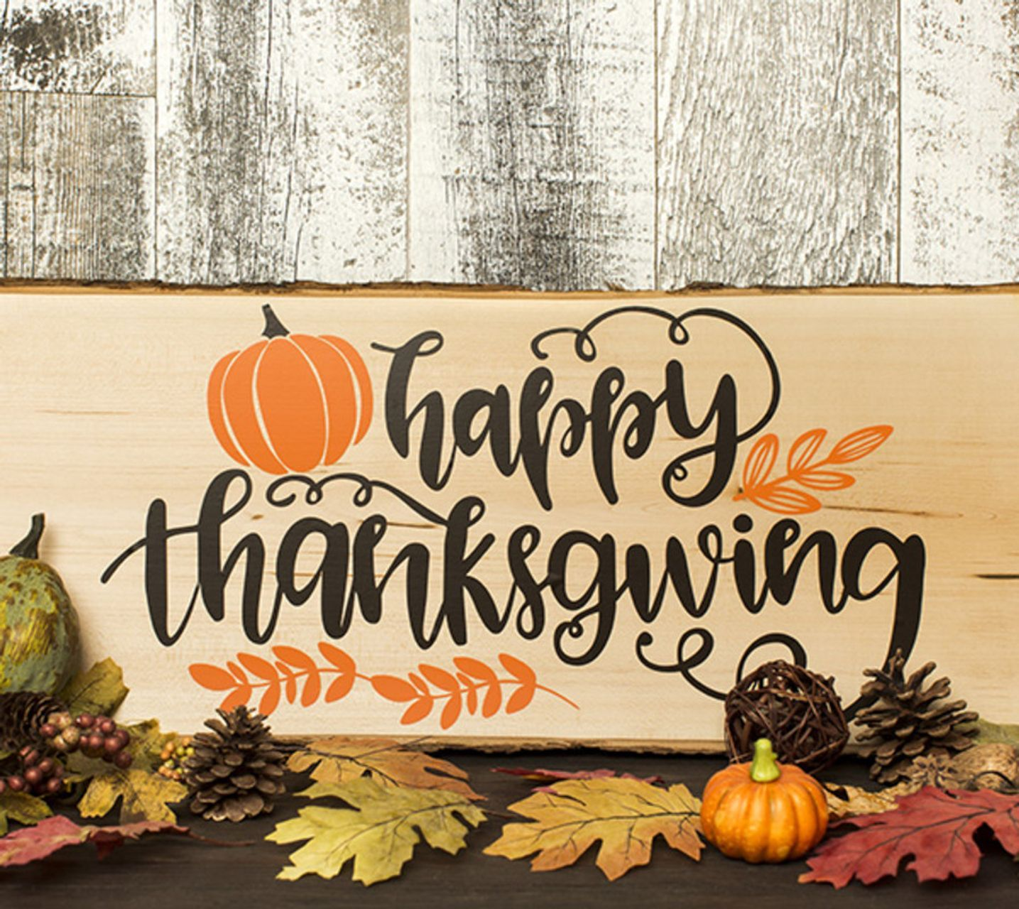 Happy Thanksgiving Wood Sign In 2020 Happy Thanksgiving Cricut Happy