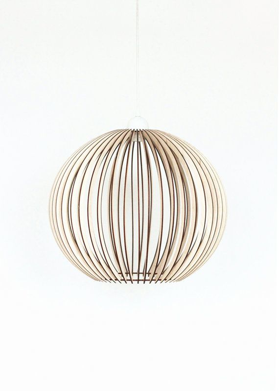 Wood Lamp Wooden Lamp Shade Hanging Lamp Pendant