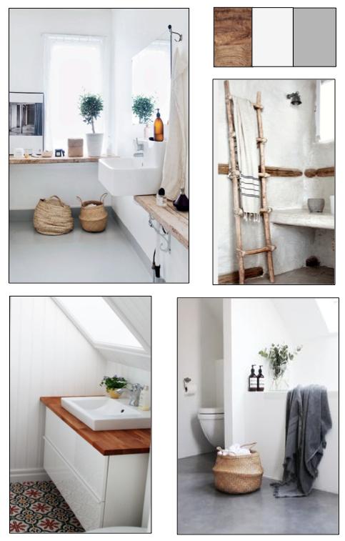 badezimmer ideen und inspiration unser haus pinterest On fliesen badezimmer gunstig