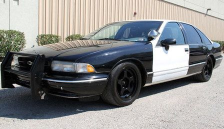 Auctioned 1996 Chevrolet Caprice 9c1 Police Package