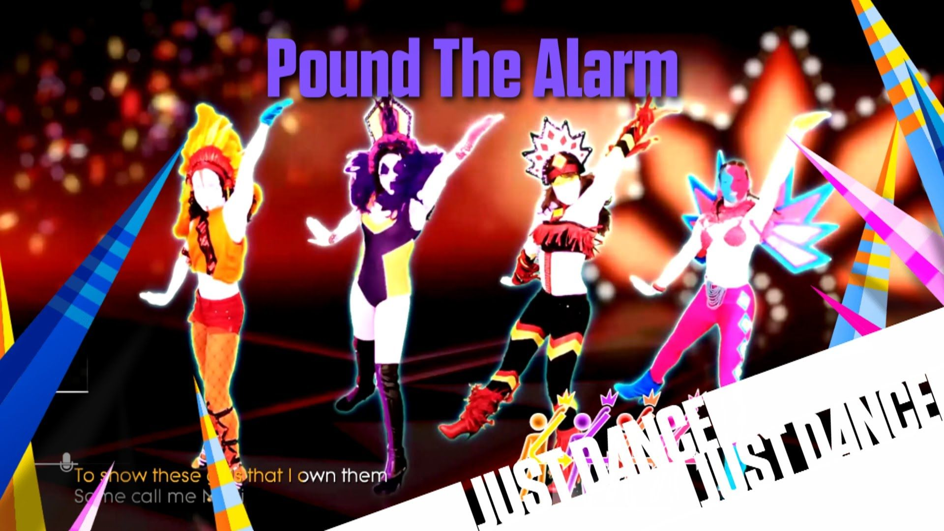 Just Dance Unlimited - Pound The Alarm | Just dance 4-2018 | Just