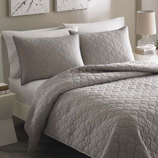 Rizzy Home Carly Pink Quilt | City scene, Moroccan and Master bedroom : gray quilted bedspread - Adamdwight.com