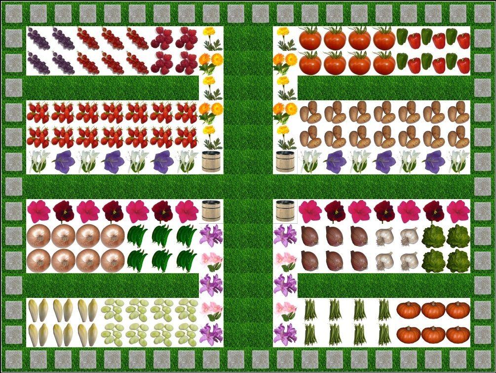 Logiciel de dessin du plan de votre jardin potager Application en - Logiciel Pour Dessiner Plan Maison Gratuit
