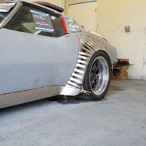 custom corvette widebody kit  fender flares | Chevys and