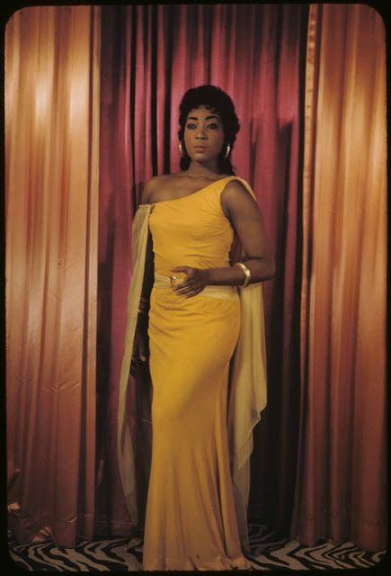 Gloria Davy 1931-2012. Ms. Davy is the first African-American to sing Aida at the Met Opera.