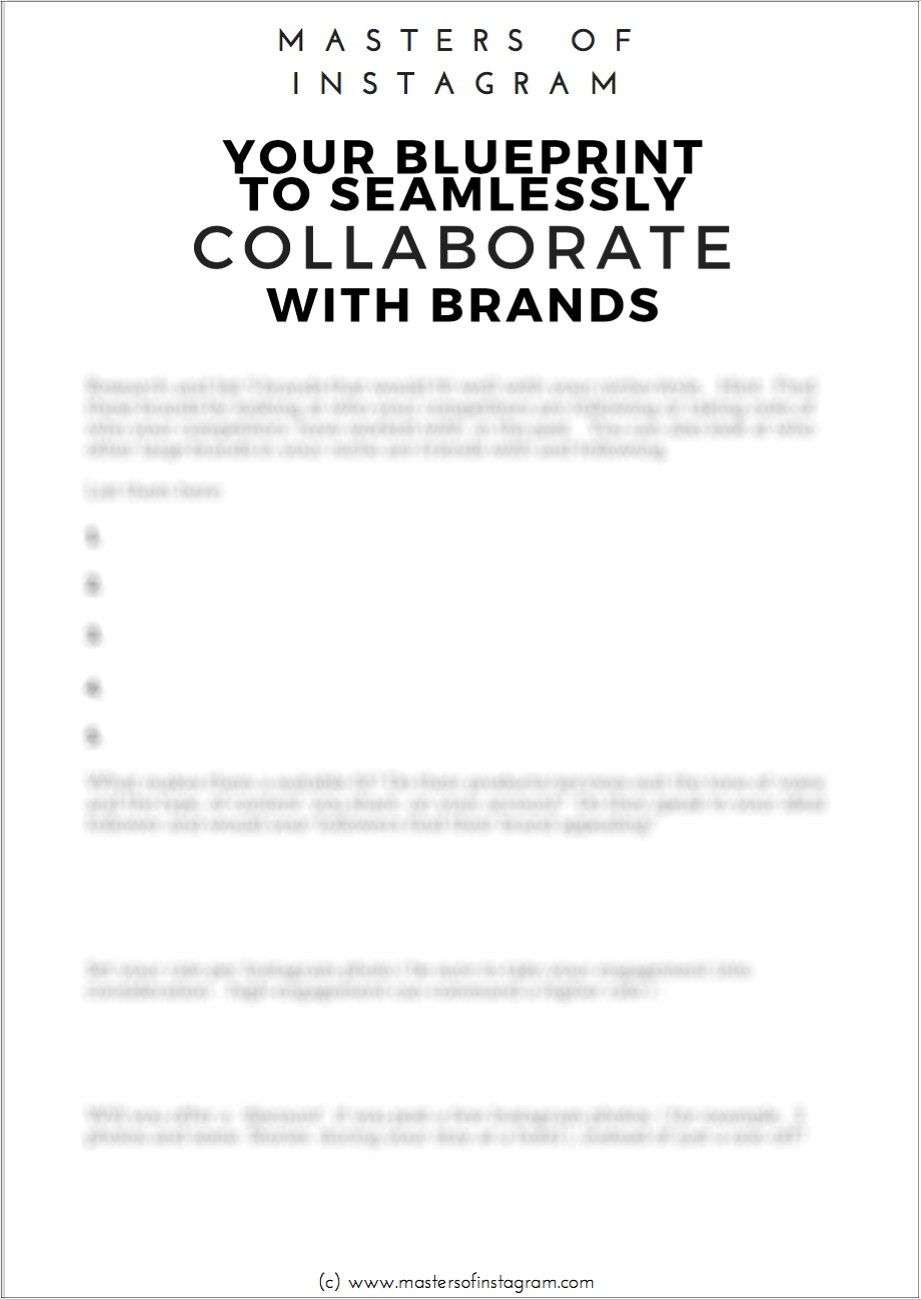 Influencers Guide Instagram Collabs Media Kit Template Graphic Designer Portfolio This Or That Questions