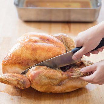 Roasted Brined Turkey Recipe Roasting A Brined Turkey