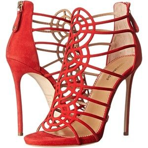 DSQUARED2 Strappy Sandal (Rosso) High Heels