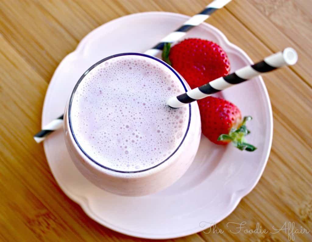 Strawberry Smoothie Recipe Strawberry smoothie