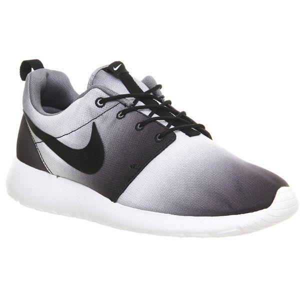 Nike - Print Rosherun (frais Gris Noir Blanc)