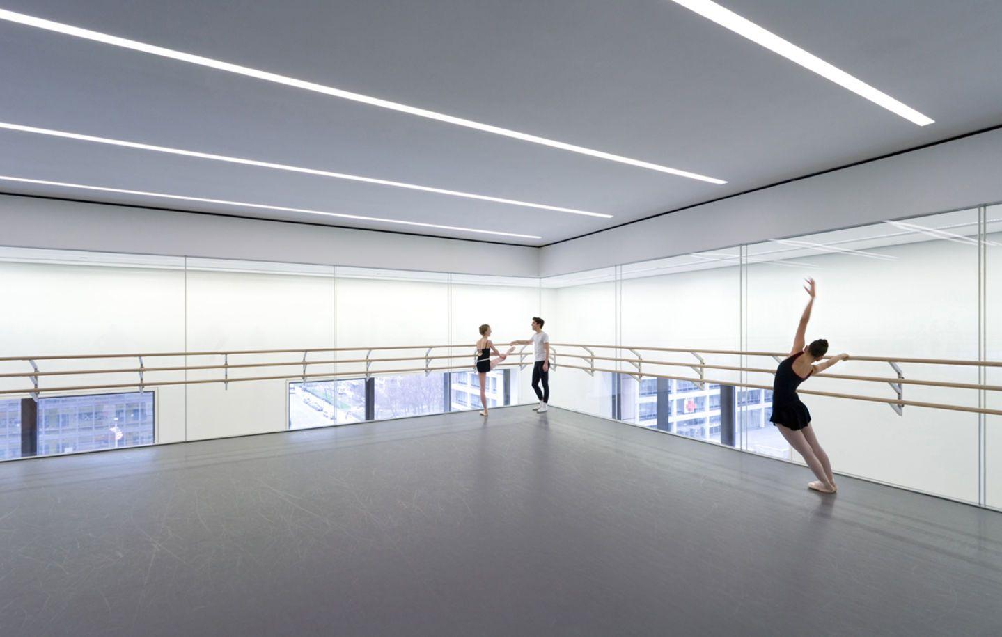 Diller Scofidio Renfro Iwan Baan School Of American Ballet Divisare Ballet School Ballet Studio Dance School