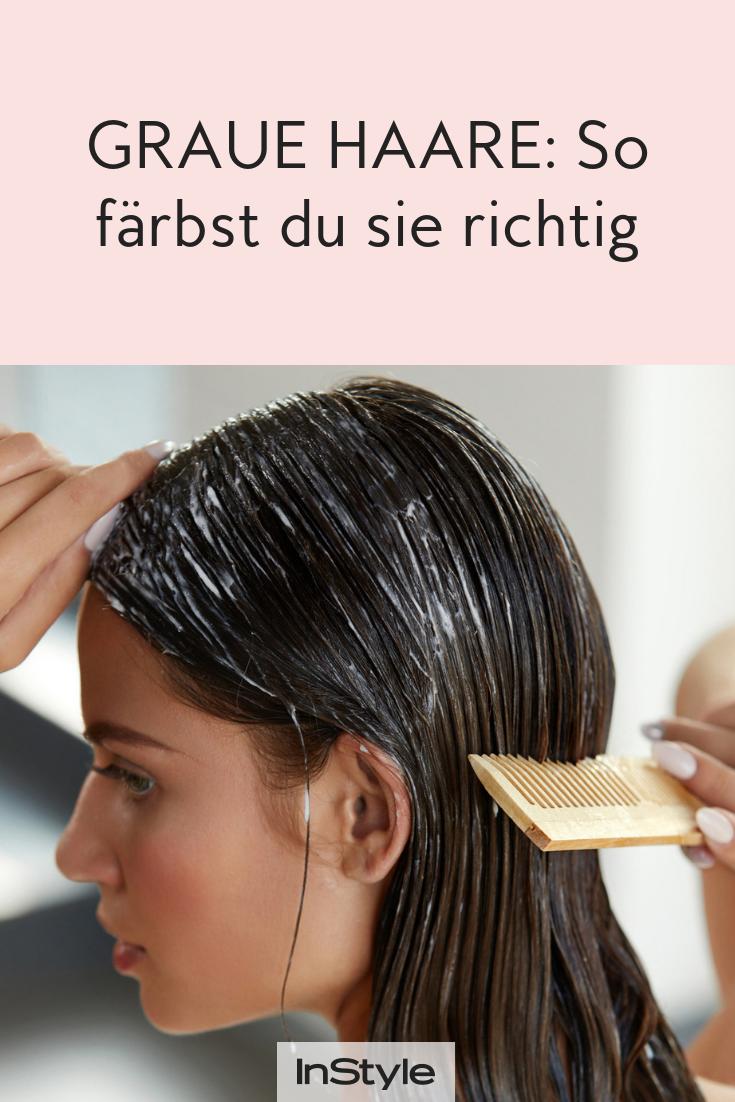 Graue Haare abdecken: Das sind die besten Techniken  Graue haare