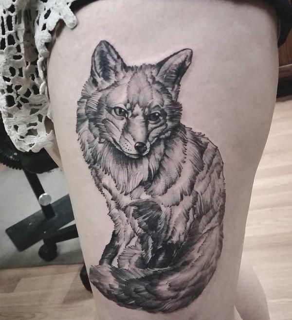 Fox Tattoo Meaning And Designs Fox Tattoo Fox Tattoo Meaning Tattoos