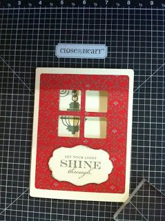 A Sprinkle of Glitter: CTMH Stamp of the Month Blog Hop - November - Illuminate