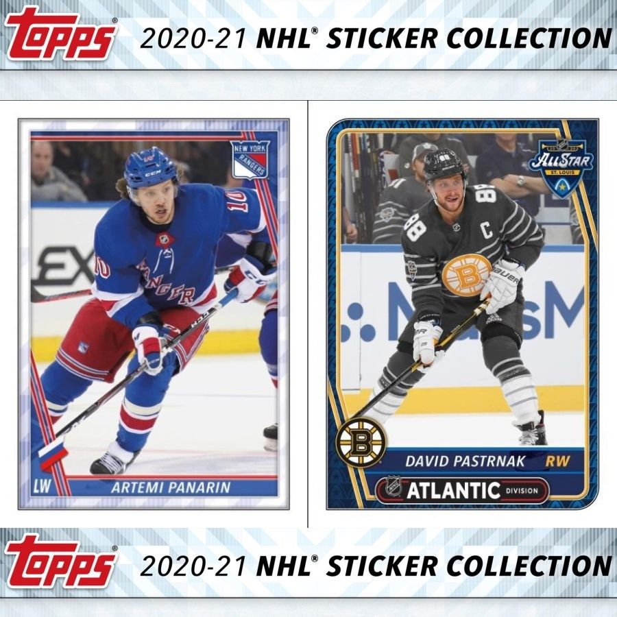 2020 21 Topps Nhl Sticker Collection Checklist Set Info Boxes Date In 2020 Sticker Collection Nhl Hockey Cards