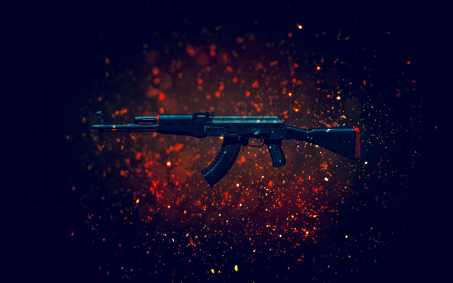 AK 47  Red Line WallpaperHD CSGO Skin SKIN